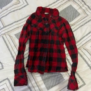 Talula (TNA) Red and Black Flannel